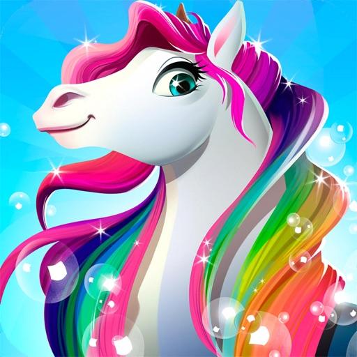 Fashion Rainbow Horse Doctor iOS App