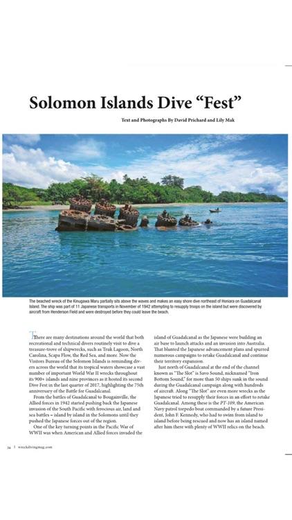 Wreck Diving Magazine screenshot-4