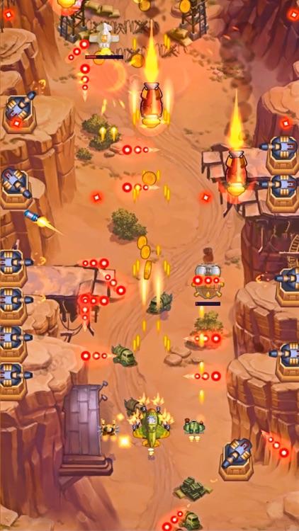 HAWK: Bullet Hell Jet Shooter screenshot-3