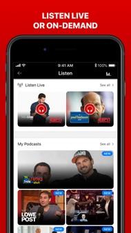 ESPN: Live Sports & Scores iphone images