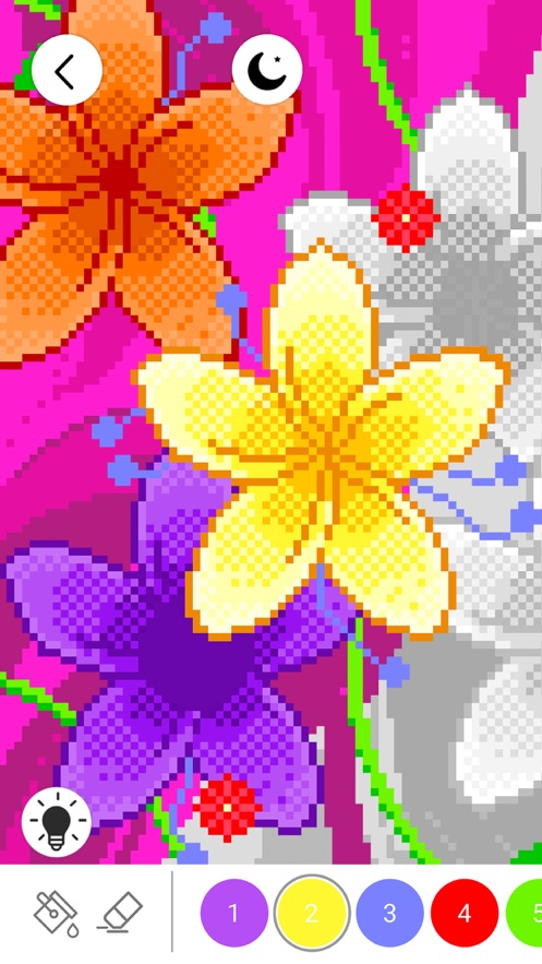 数字填色:画画游戏 (Color by Number) App 截图