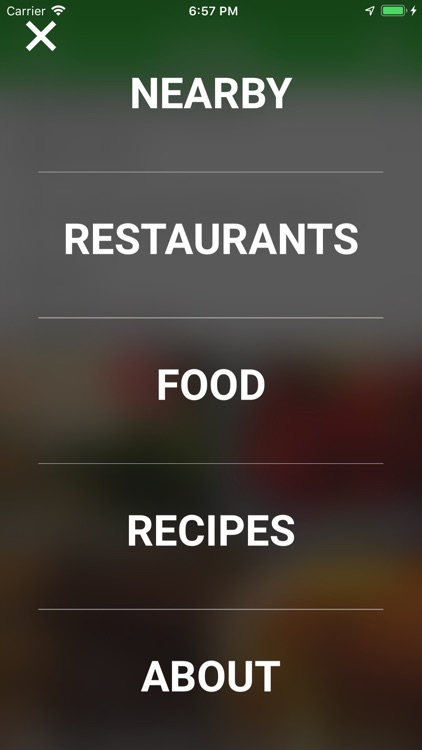 EatUp — Save places with food