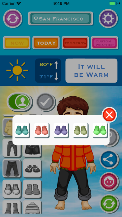 天気と今日の服装のおすすめ画像9