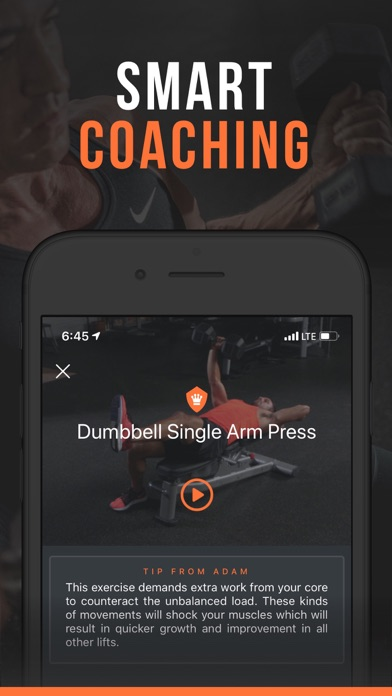 SHRED: Gym Workout & Tracker Screenshot