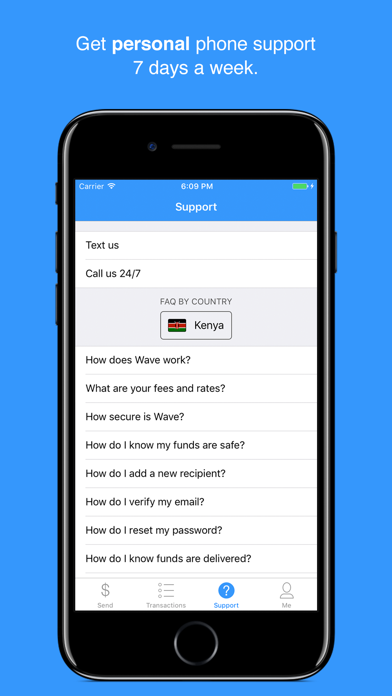 Sendwave–Send Money to Africa by Chime Inc  (iOS, United
