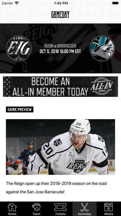 Ontario Reign screenshot four