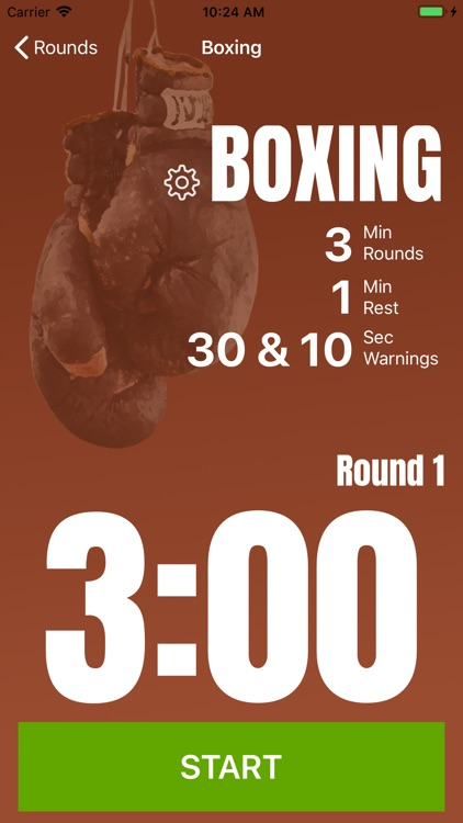 Rounds Timer