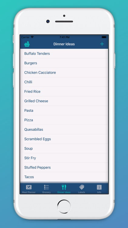 Decisive Wife Meal Planner screenshot-3