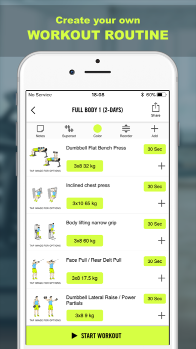 Download Gym Life - Workout Routine for Pc