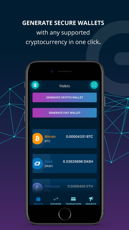 Elegro Сrypto/Fiat Wallet screenshot-0