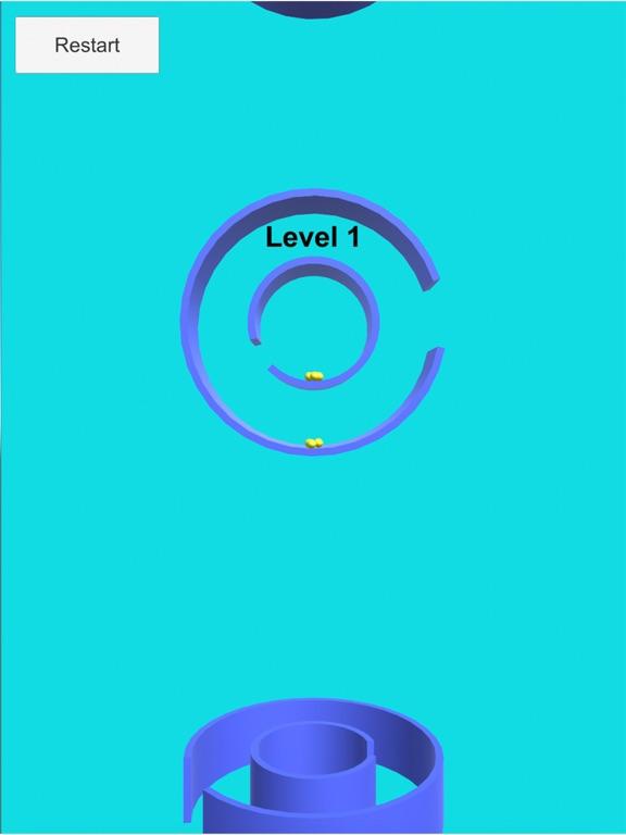 Musical Rotate Maze balls screenshot 1
