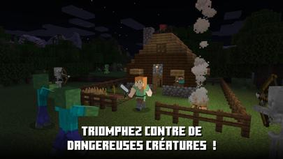 Minecraft iphone captures décran