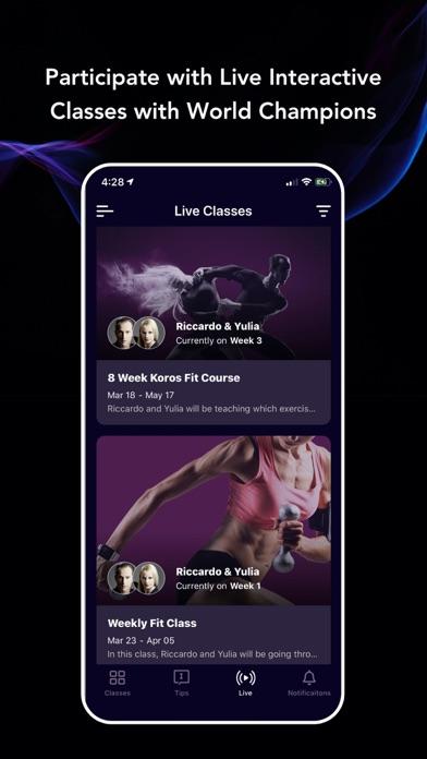 Koros - dance classes at home Screenshot