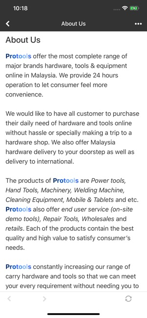 Protools Hardware Sdn Bhd on the App Store