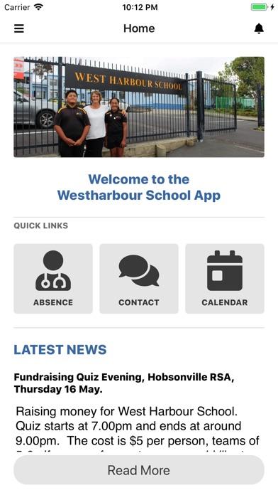 West Harbour School screenshot 1