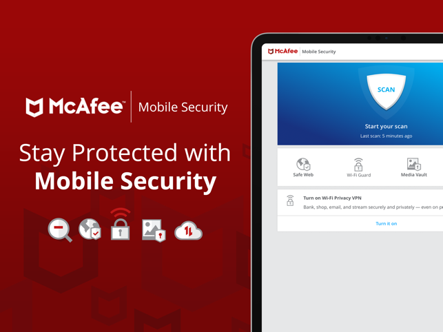‎McAfee Mobile Security Screenshot