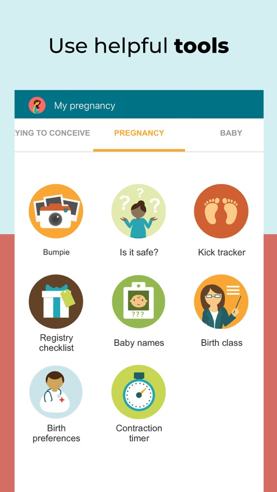 Pregnancy Tracker - BabyCenter App for iPhone - Free ...