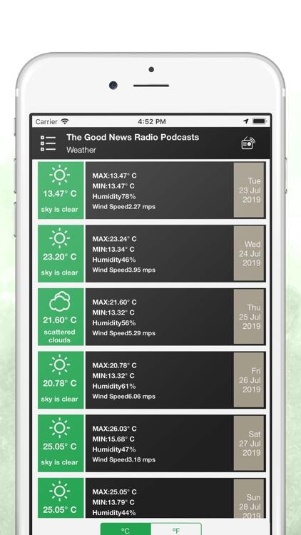 The Good News Radio Podcasts screenshot-5