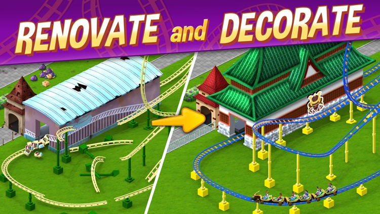 RollerCoaster Tycoon® Story screenshot-0