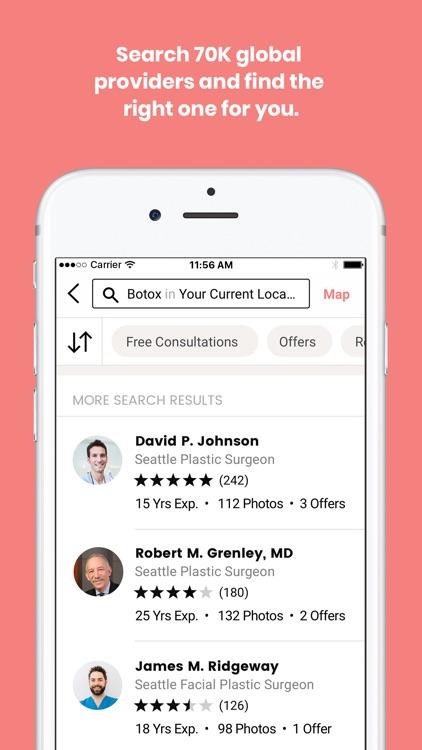 RealSelf: Treatments & Reviews screenshot-0