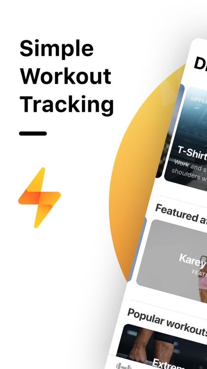 Weight Lifting Tracker by Bolt screenshot-0