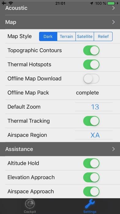 eVario - Variometer Paraglider screenshot 6