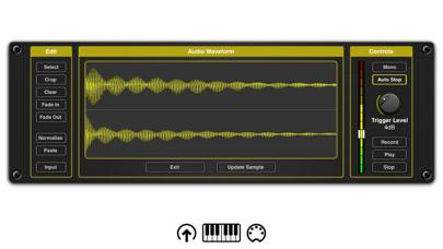 Chameleon AUv3 Sampler Plugin Screenshots