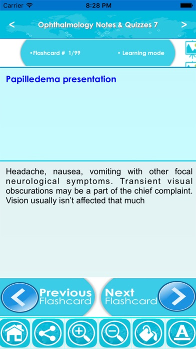 Ophthalmology Exam Review :Q&A screenshot two