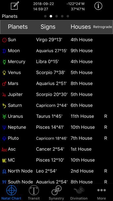 Easy Astro+ Astrology Chartsのおすすめ画像2
