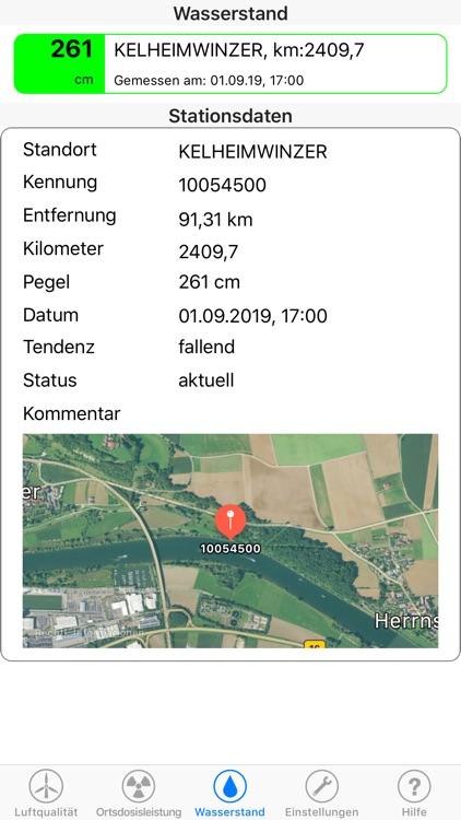 Umweltdaten screenshot-3