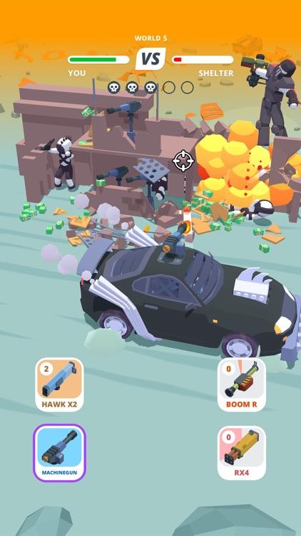 Desert Riders - Wasteland Cars screenshot-3