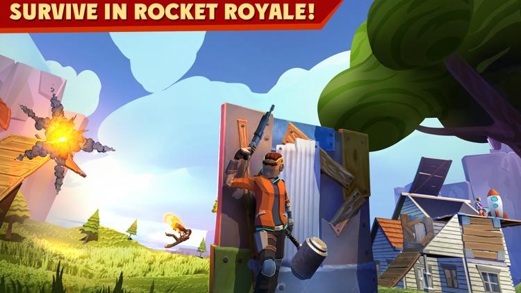 Rocket Royale: PvP Survival screenshot-0