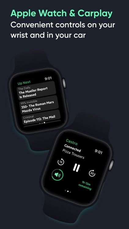 Castro Podcast Player screenshot-8