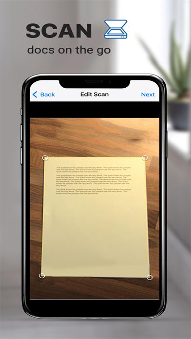 Turbo Scanner : 扫描, 文档扫描 & 文字屏幕截图1