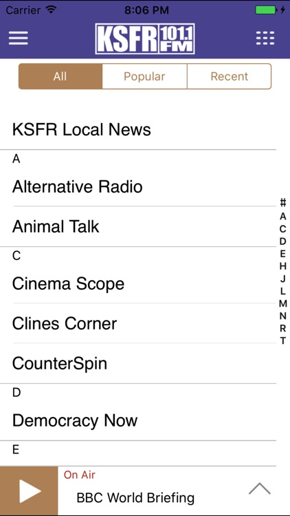 KSFR Public Radio App screenshot-3