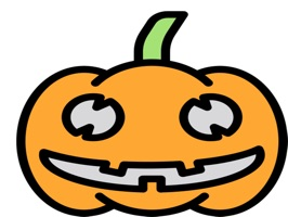 The HalloweenBip sticker are show the 36 stickers of Halloween with high quality and different emotions, like angry, scared happy or glad
