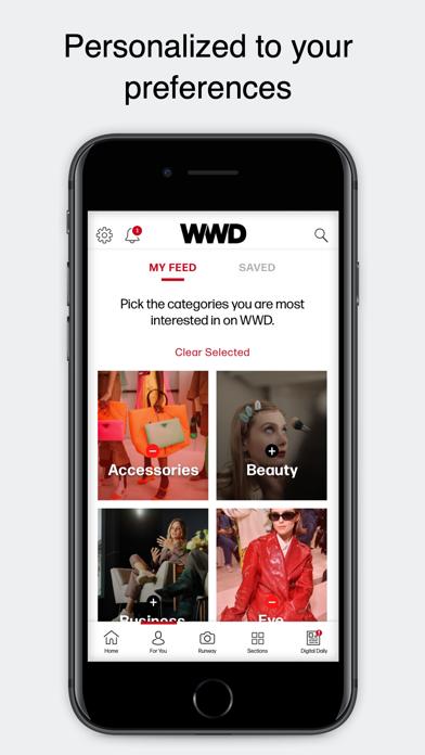 WWD: Women's Wear Daily Screenshot