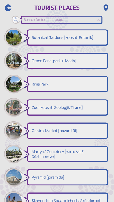Tirana City Guide screenshot 3