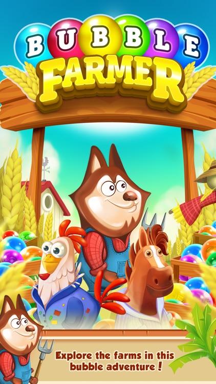 Bubble Shooter - Farm Pop Saga screenshot-0