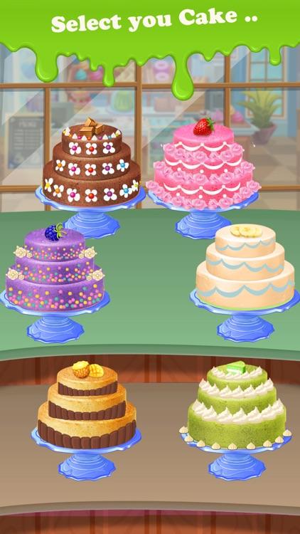 Bake Cake Maker Kitchen Game screenshot-4