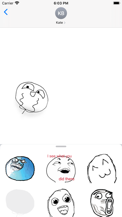 Meme Sticker CollectionScreenshot of 4