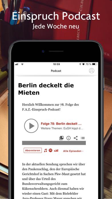 messages.download F.A.Z. Einspruch software