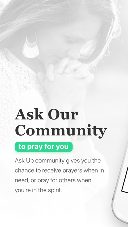 Ask Up - Request & Pray