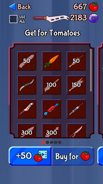 Food Cut - knife games screenshot-5
