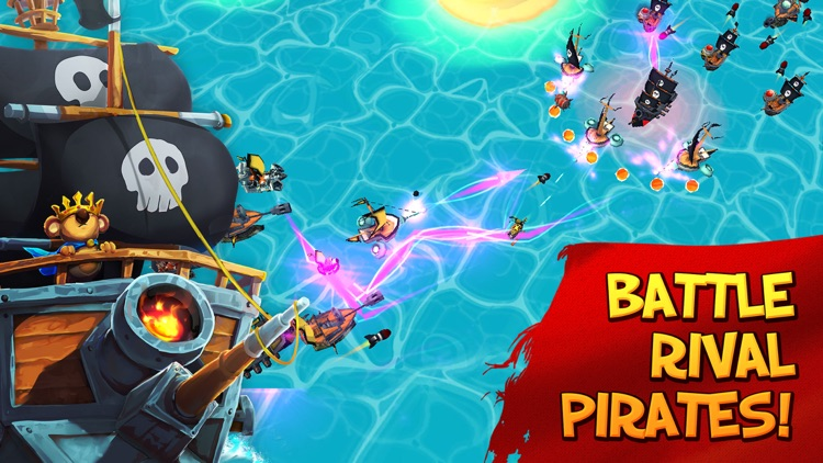 Tropical Wars - Pirate Battles screenshot-3