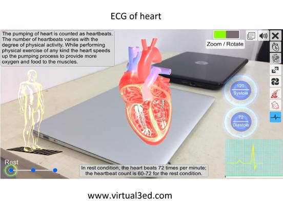 AR Heart - An incredible pump screenshot 10