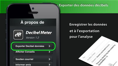 Screenshot #3 pour Decibel Meter Plus Pro