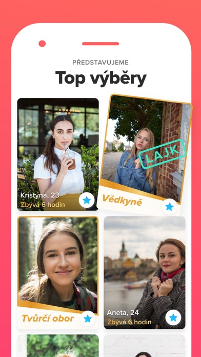 Screenshot for Tinder in Czech Republic App Store