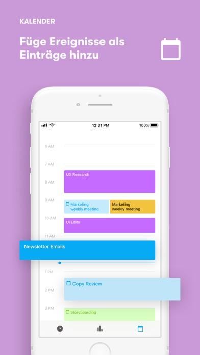 Screenshot for Toggl: Zeiterfassung Stechuhr in Austria App Store