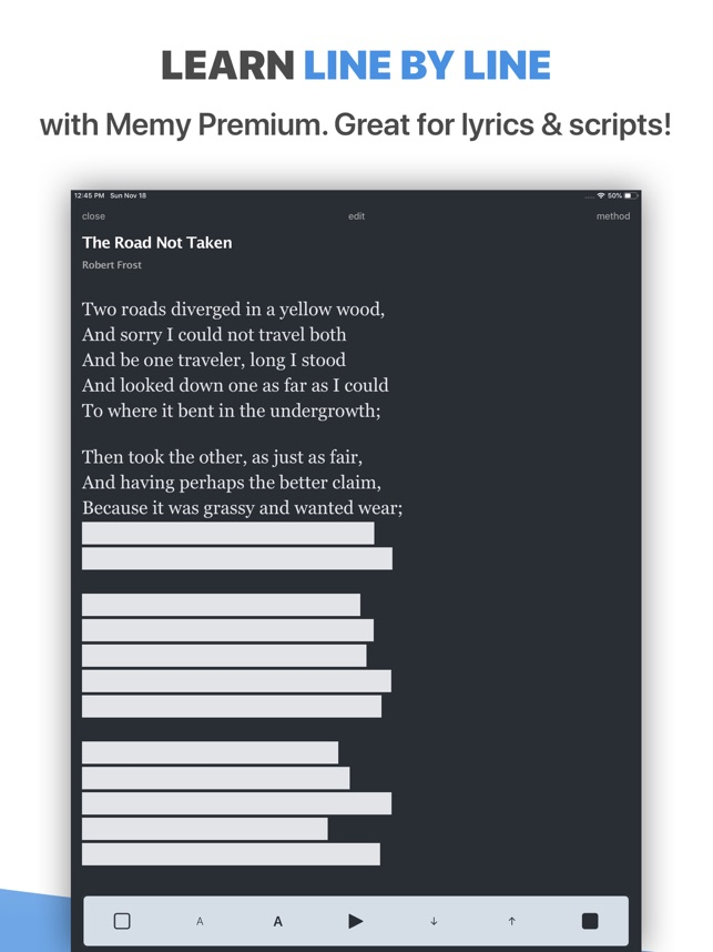Memorize Lines by Heart - Memy on the App Store